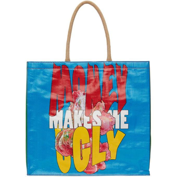 Photo: ERL Multicolor Money Makes Me Cry Tote