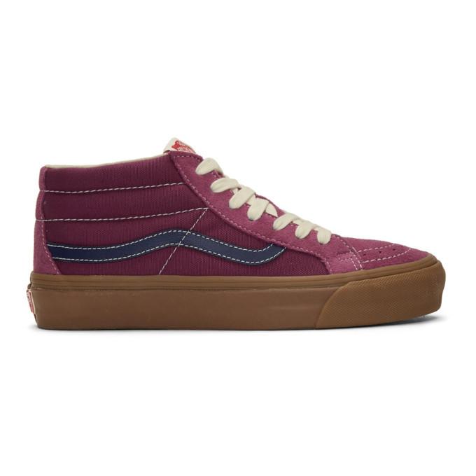 Photo: Vans Purple OG SK8-Mid Lx Sneakers