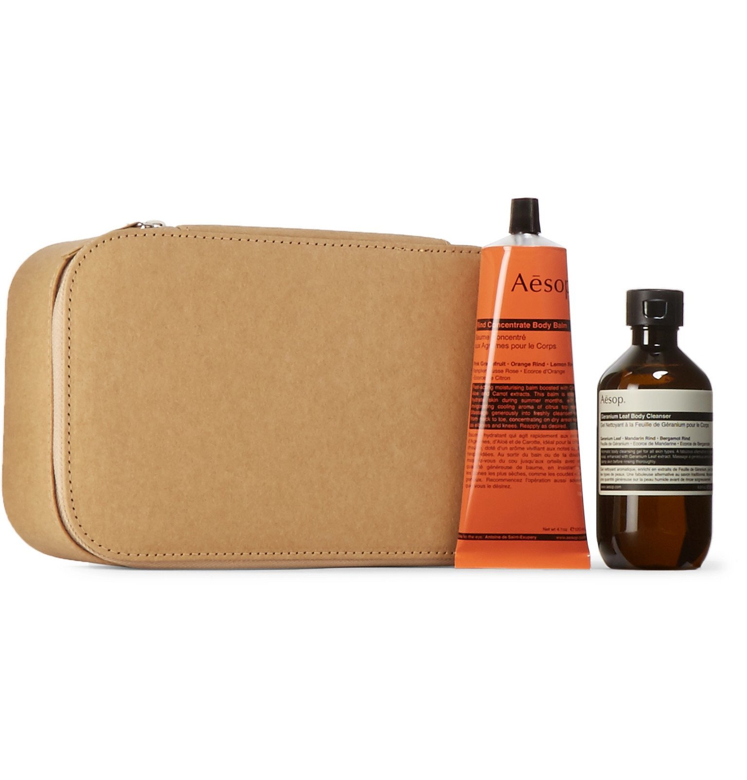 Photo: Aesop - The Humourist Body Care Kit - Colorless