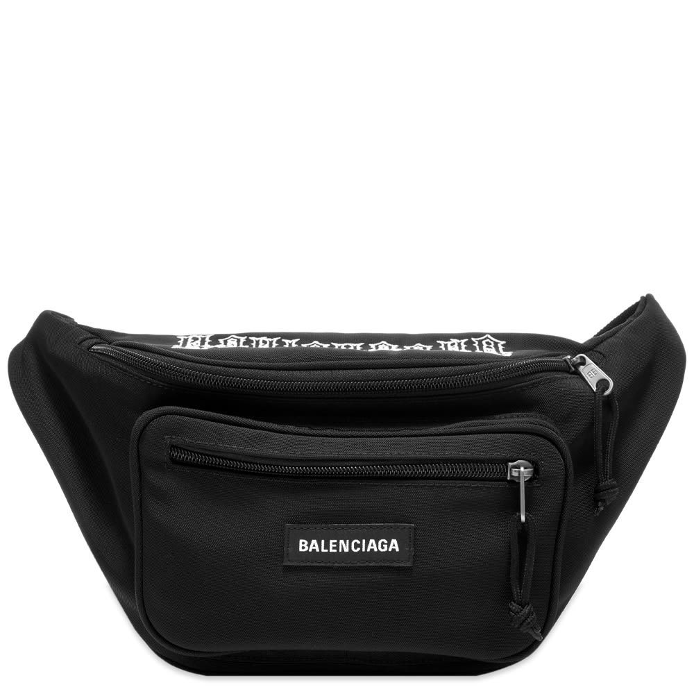 Photo: Balenciaga Tattoo Logo Waist Bag