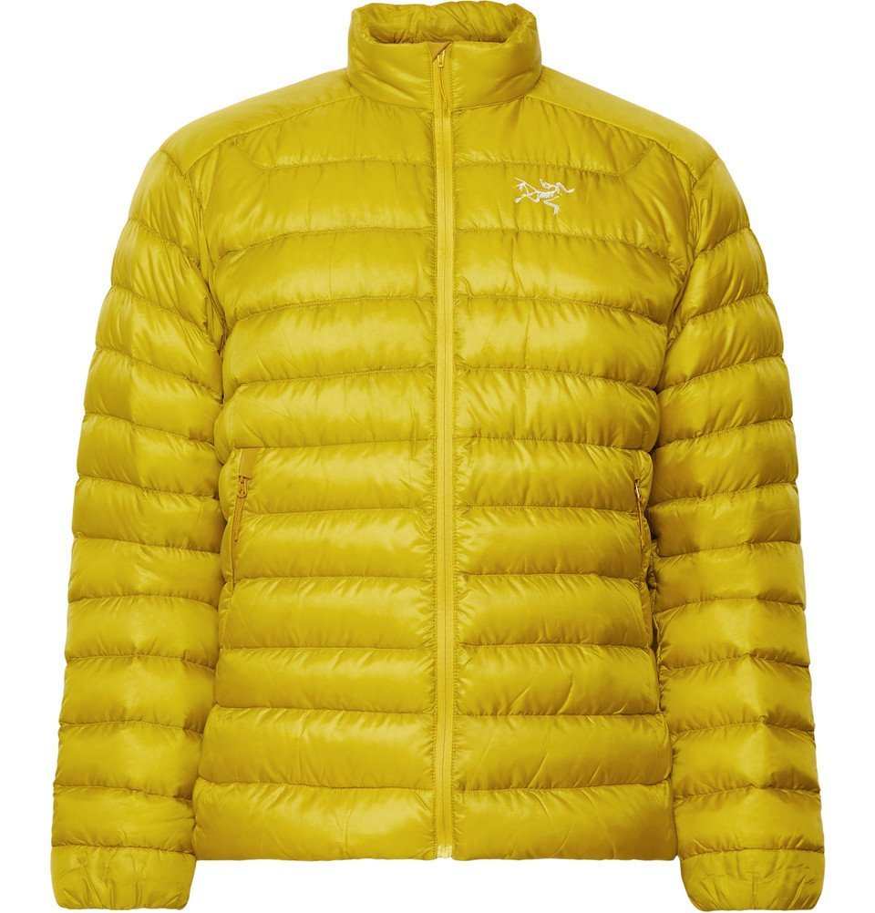 Photo: Arc'teryx - Cerium LT Quilted Arato Down Jacket - Chartreuse