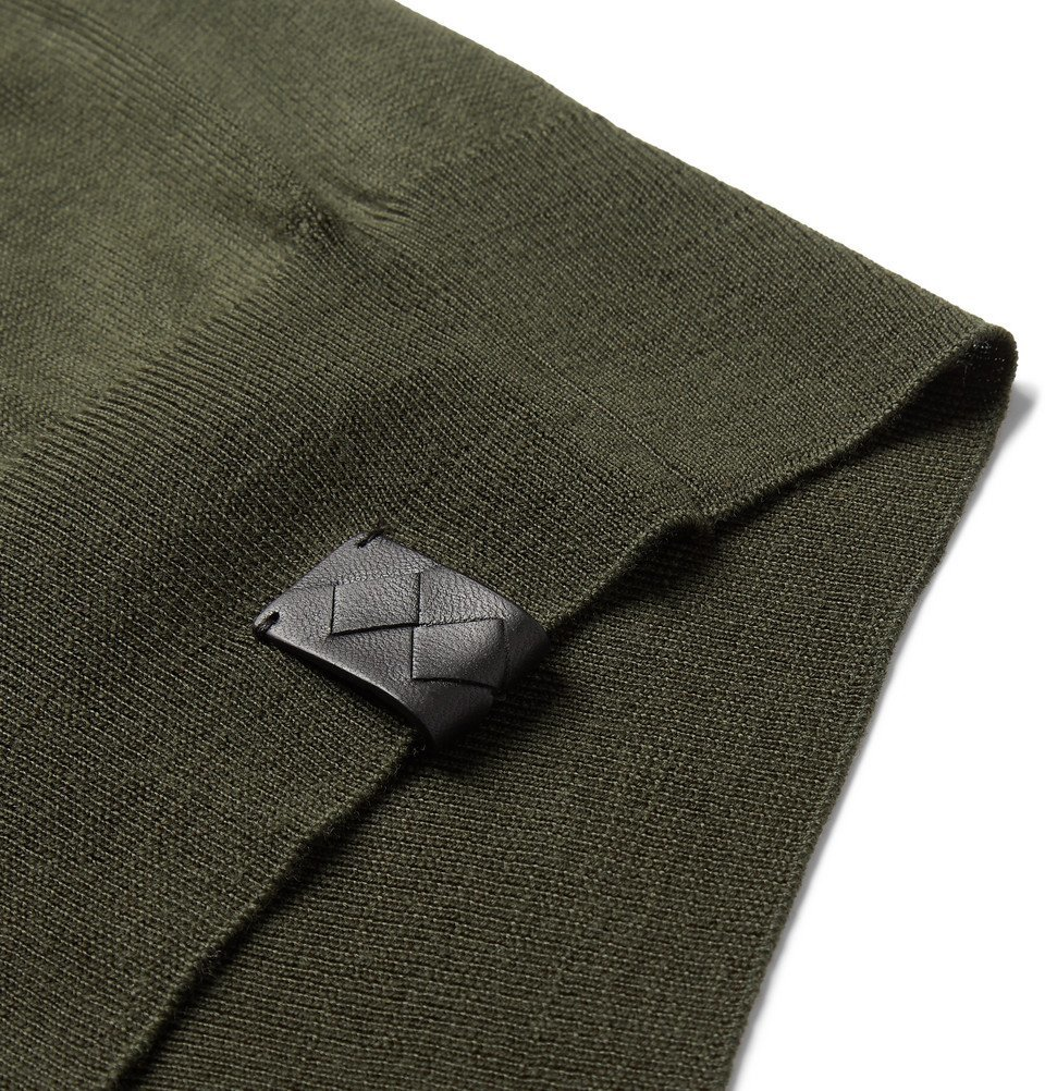 Bottega Veneta - Merino Wool Sweater - Green