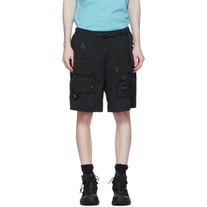 Photo: Nike ACG Black Cargo Shorts