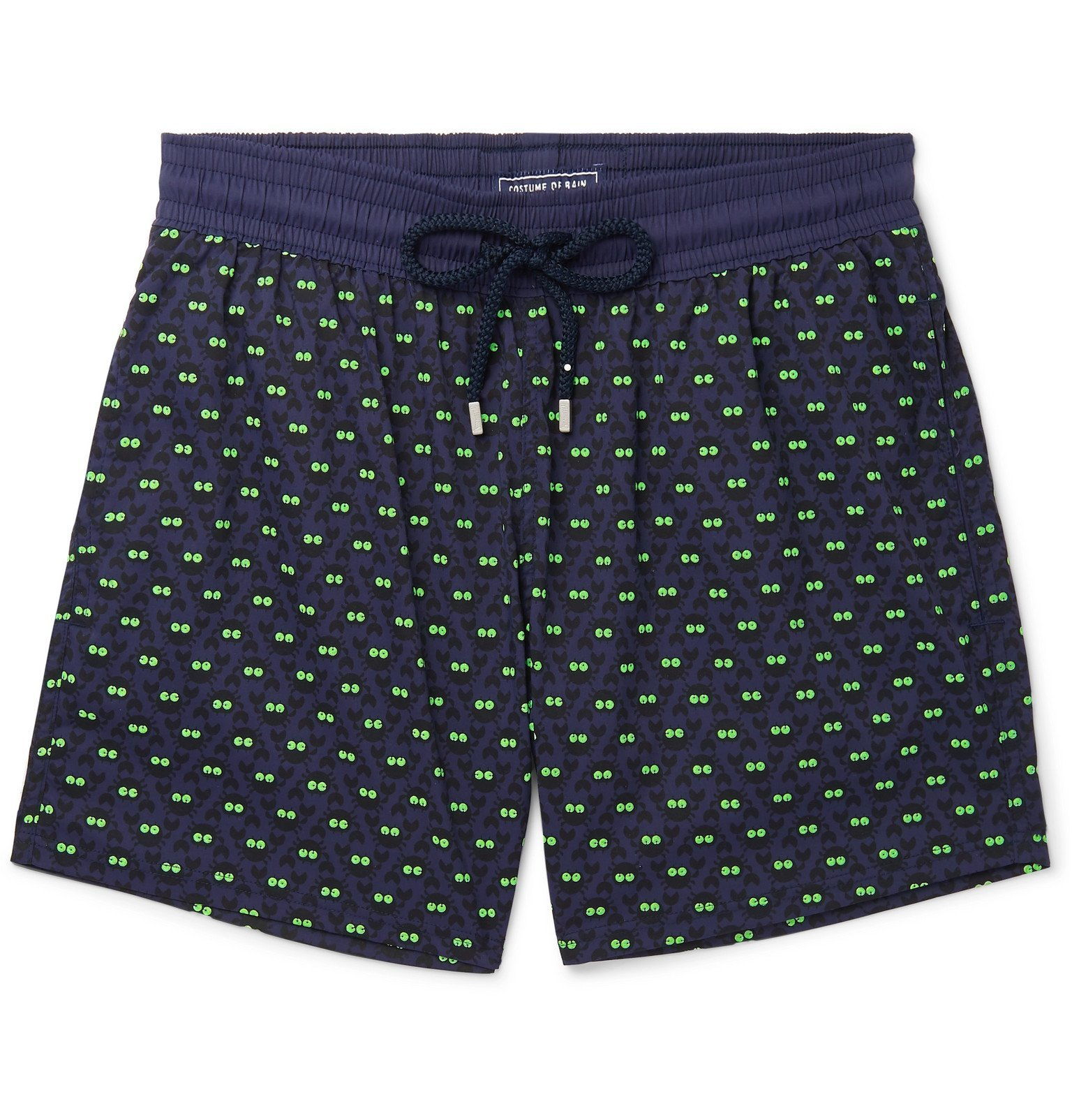 Photo: Vilebrequin - Moorise Mid-Length Printed Swim Shorts - Blue