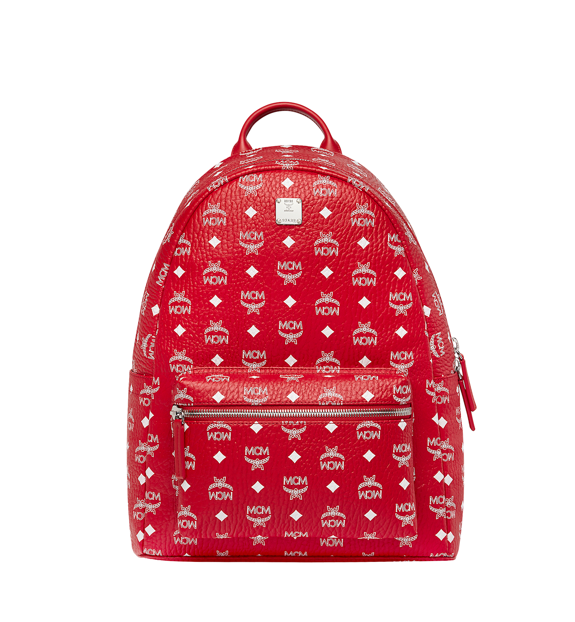 Photo: Stark Backpack In White Logo Visetos