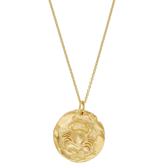 Alighieri Gold The Scattered Decade Chapter I Necklace