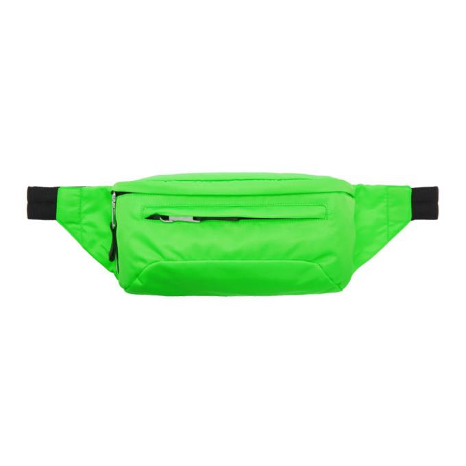 Photo: Prada Green Technical Belt Bag