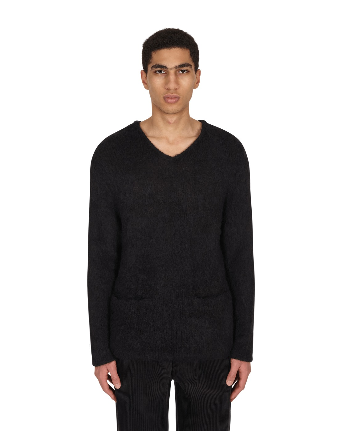 Photo: Neighborhood Mohair Sweater Black