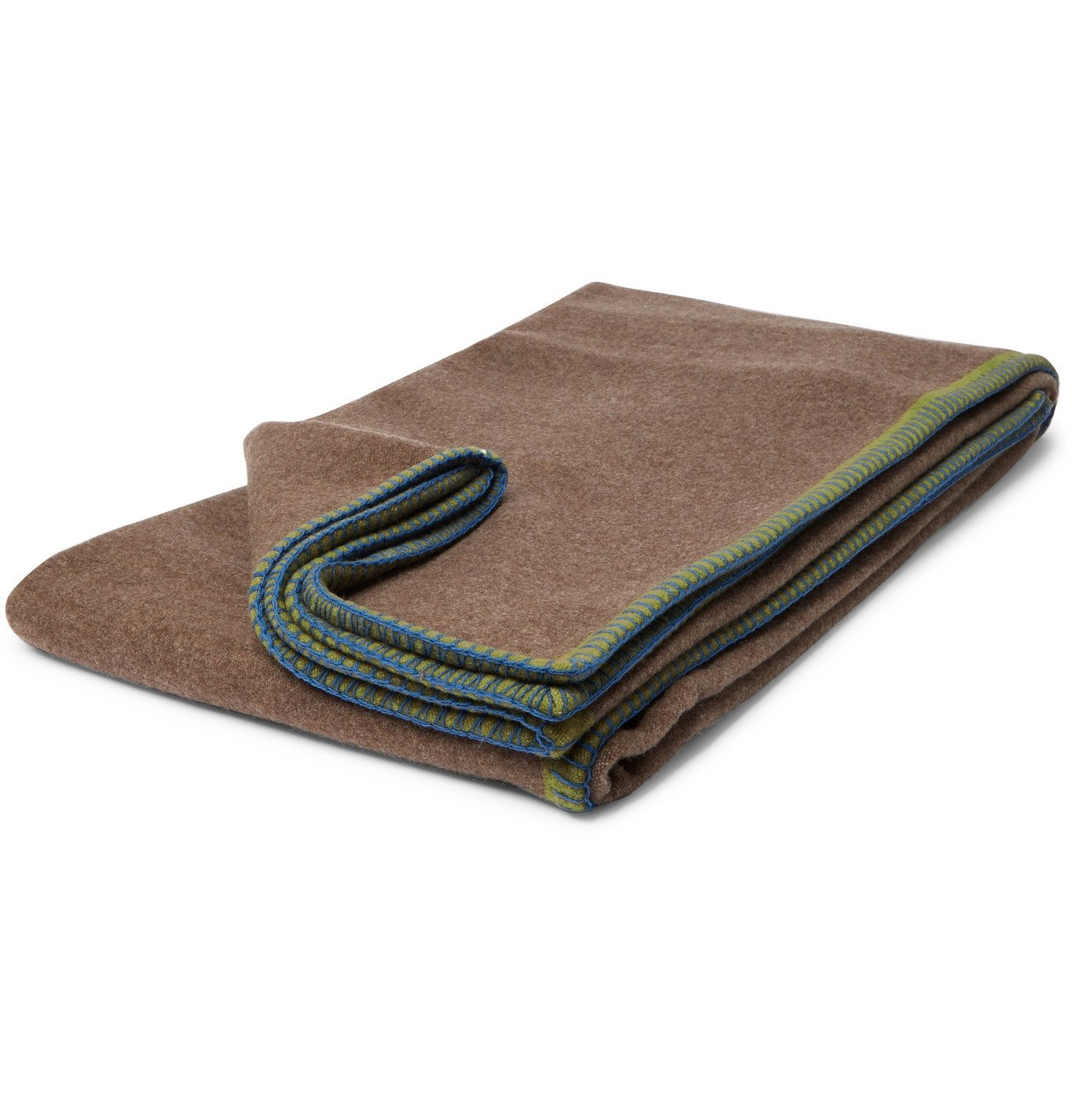 Photo: RD.LAB - Wool and Cashmere-Blend Blanket - Multi