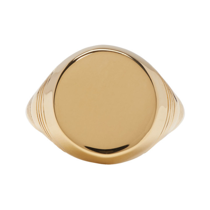 Photo: A.P.C. Gold Rayure Ring