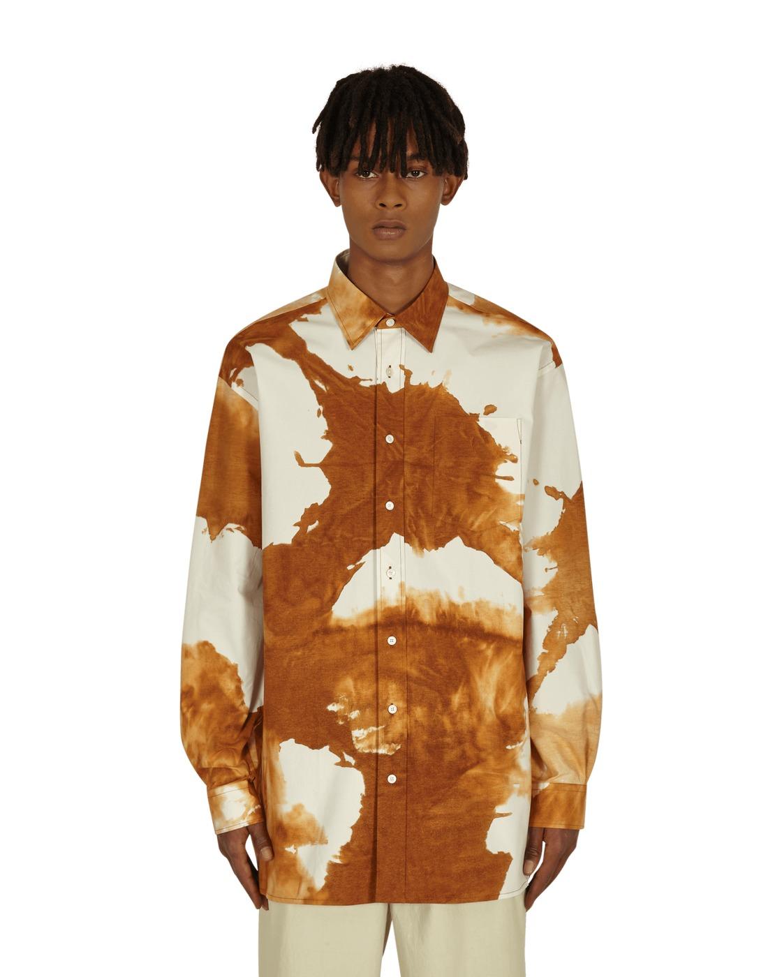 Photo: Acne Studios Oversized Shirt Spice Brown