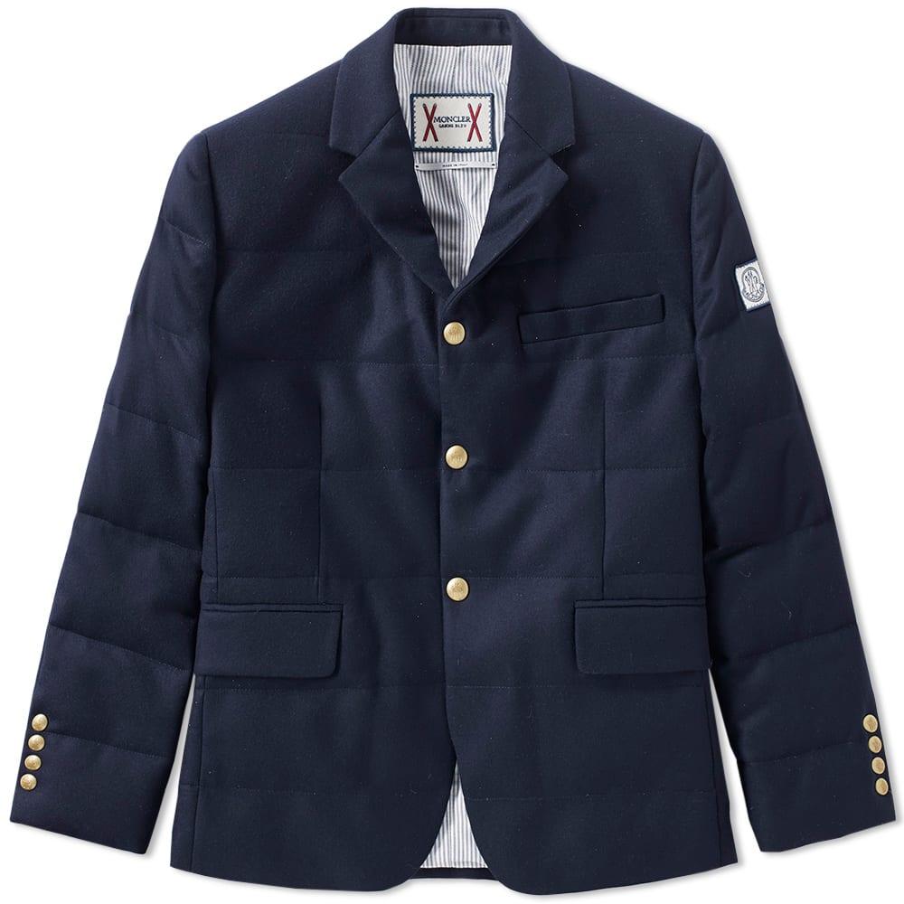 Moncler Gamme Bleu 3 Button Down Blazer