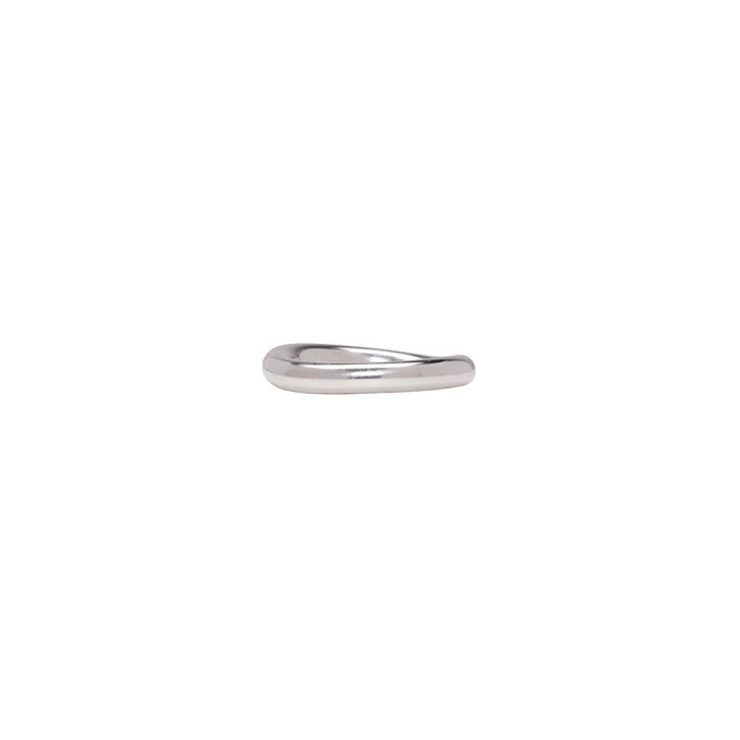 Photo: Ann Demeulemeester Silver Band Ring