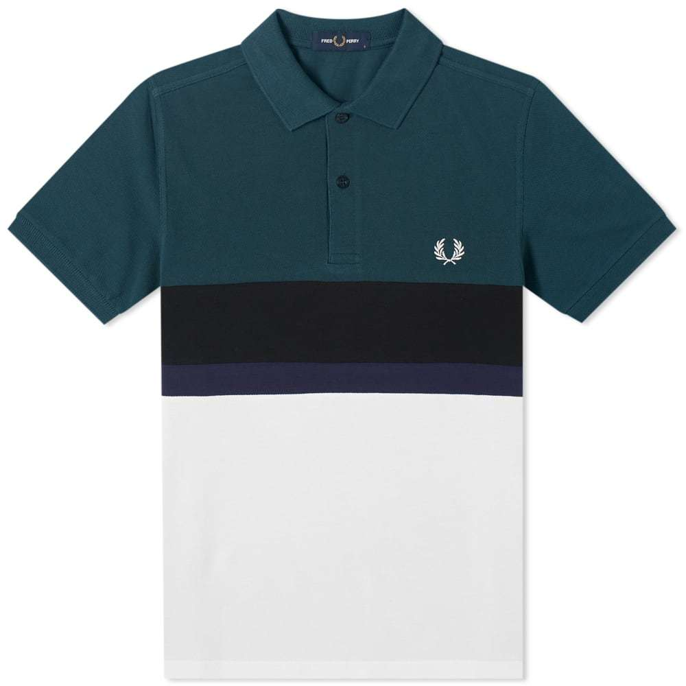 Photo: Fred Perry Authentic Colourblock Polo