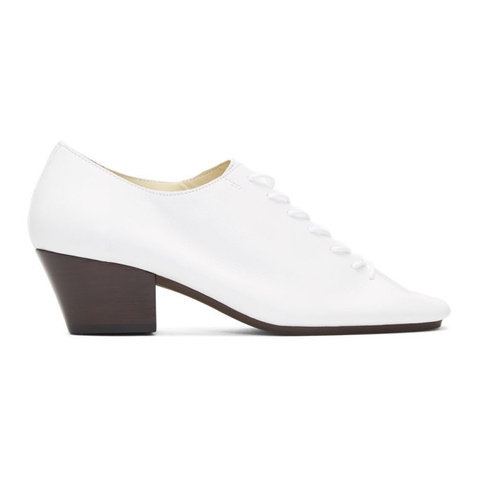 Photo: Lemaire White Heeled Derbys
