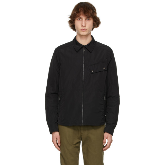 Photo: Belstaff Black Camber Jacket