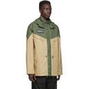 adidas Originals Green and Beige Spezial Belthorn Anorak Jacket