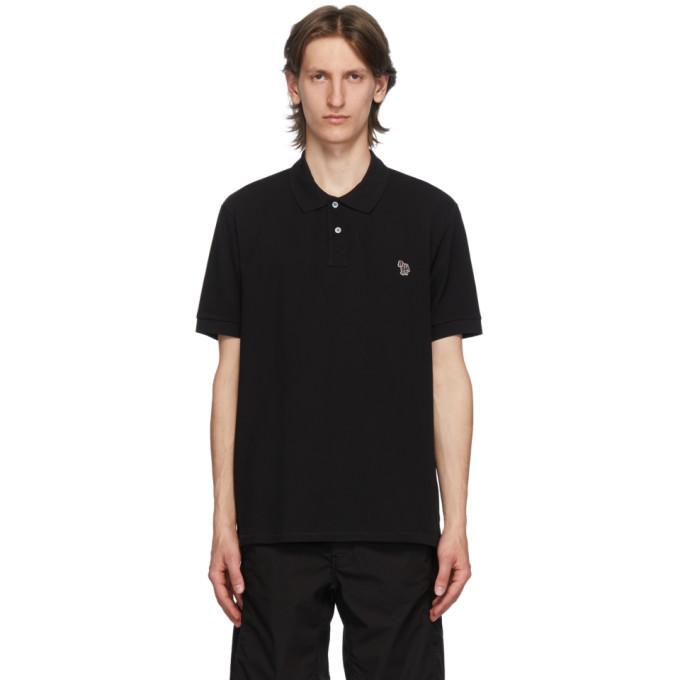 Photo: PS by Paul Smith Black Zebra Polo