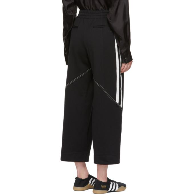 Y-3 Black Stripe Wide Lounge Pants