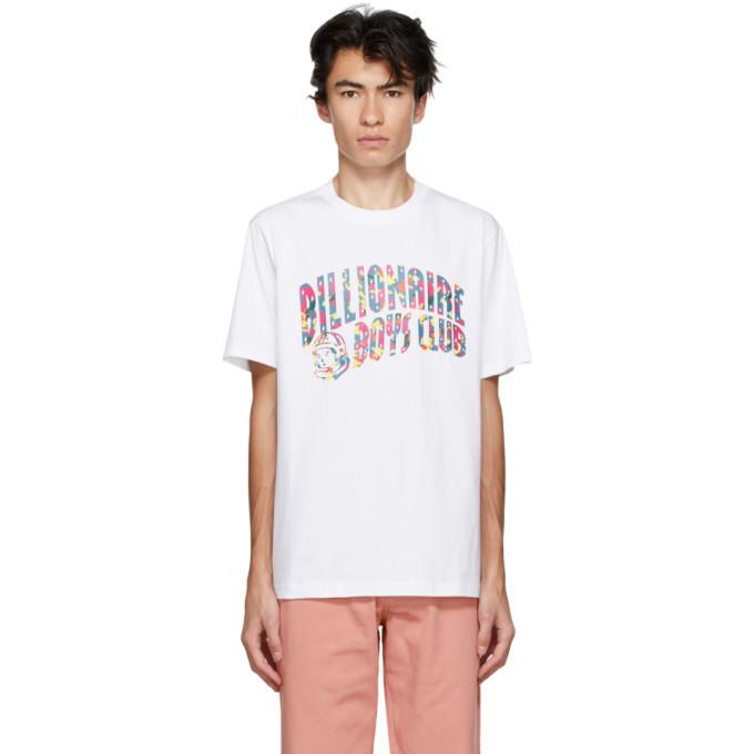 Photo: Billionaire Boys Club White Confetti Arch Logo T-Shirt