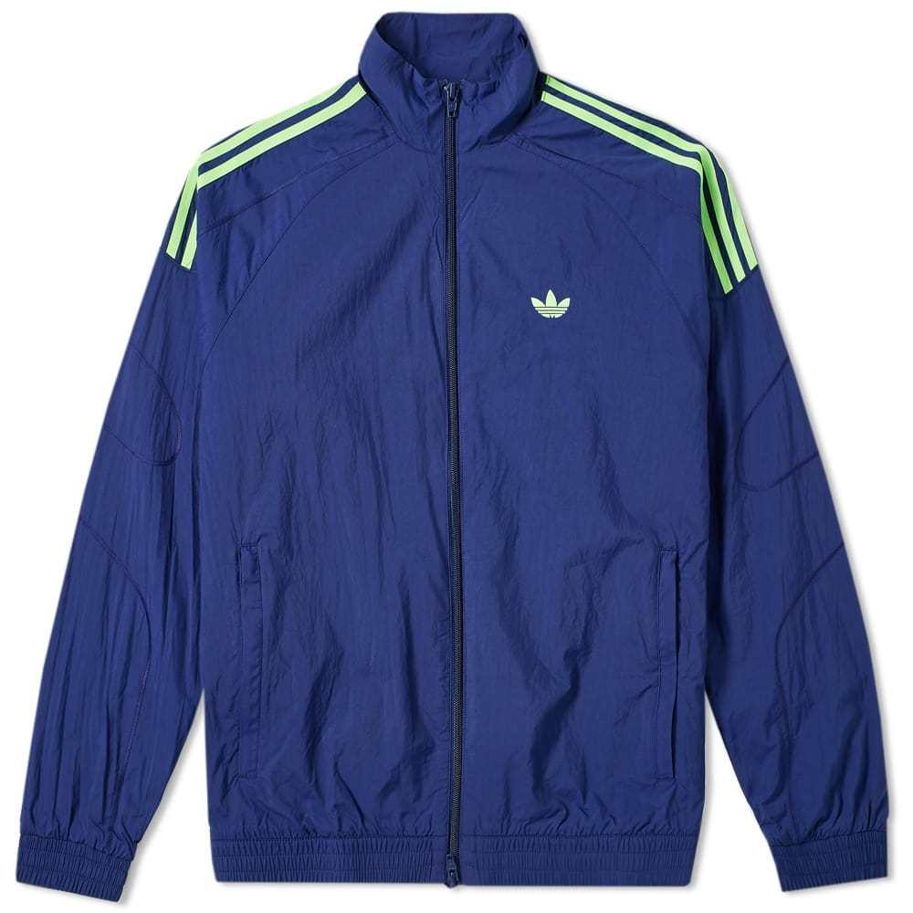 Adidas Flamestrike Woven Track Top Dark Blue