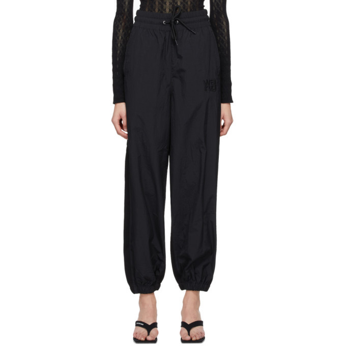 Photo: alexanderwang.t Black Hybrid Lounge Pants