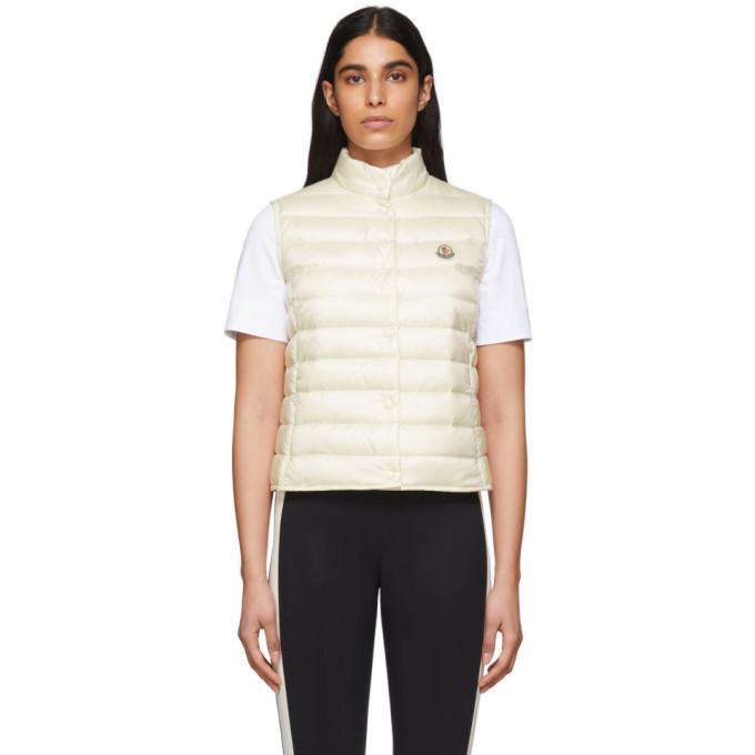 Photo: Moncler White Down Liane Vest