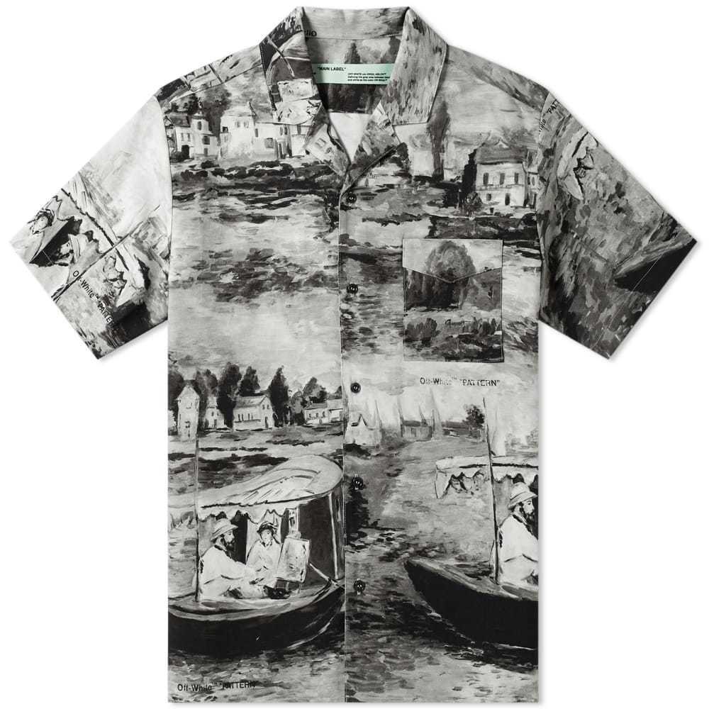 Photo: Off-White Lake Print Vacation Shirt