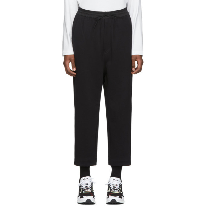 Photo: Y-3 Black Classic Cropped Lounge Pants