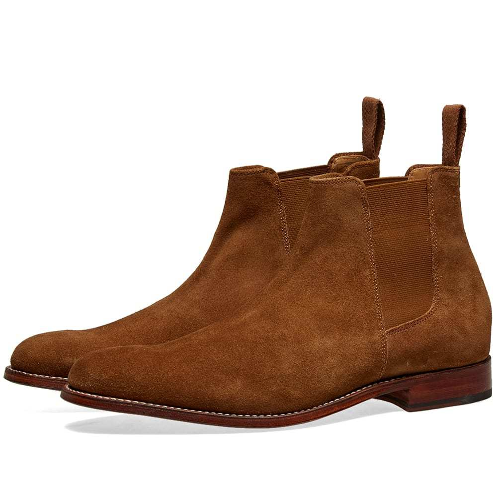 Photo: Grenson Declan Chelsea Boot Snuff Suede