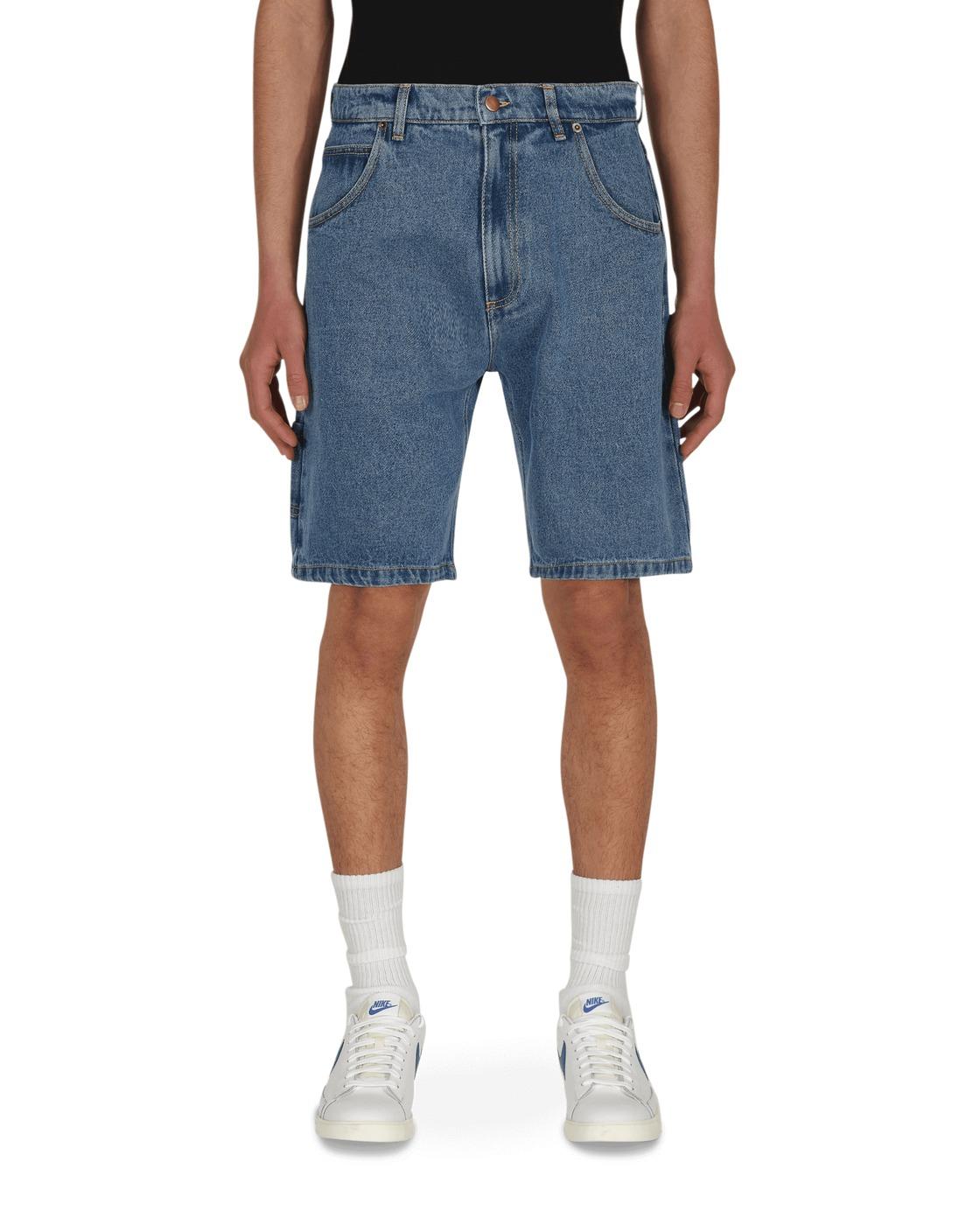 Photo: Paccbet Baggy Denim Shorts Blue