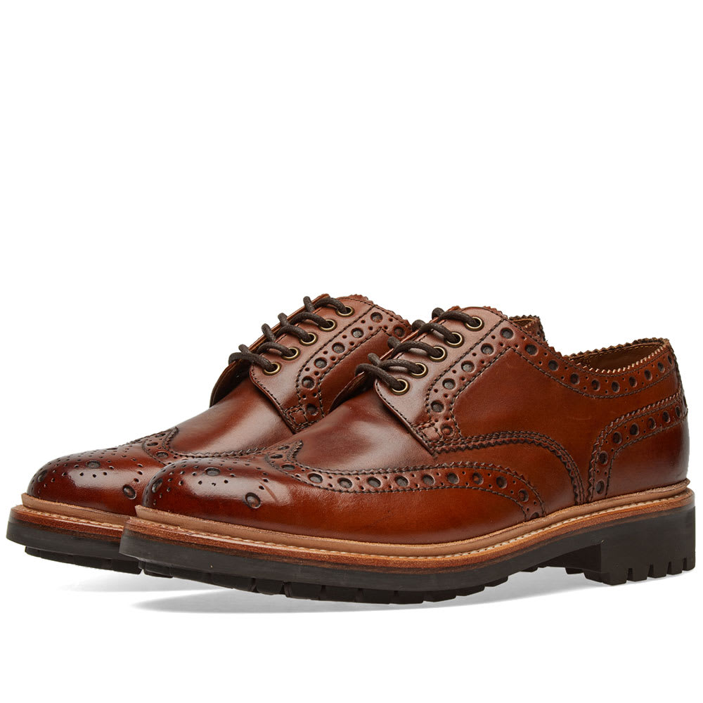 Photo: Grenson Archie Commando Sole Brogue