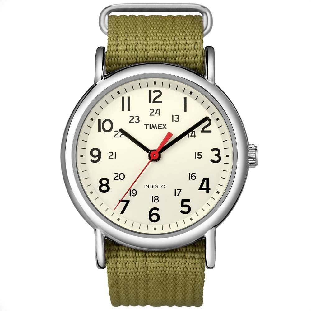 Photo: Timex Weekender Slip Thru Watch