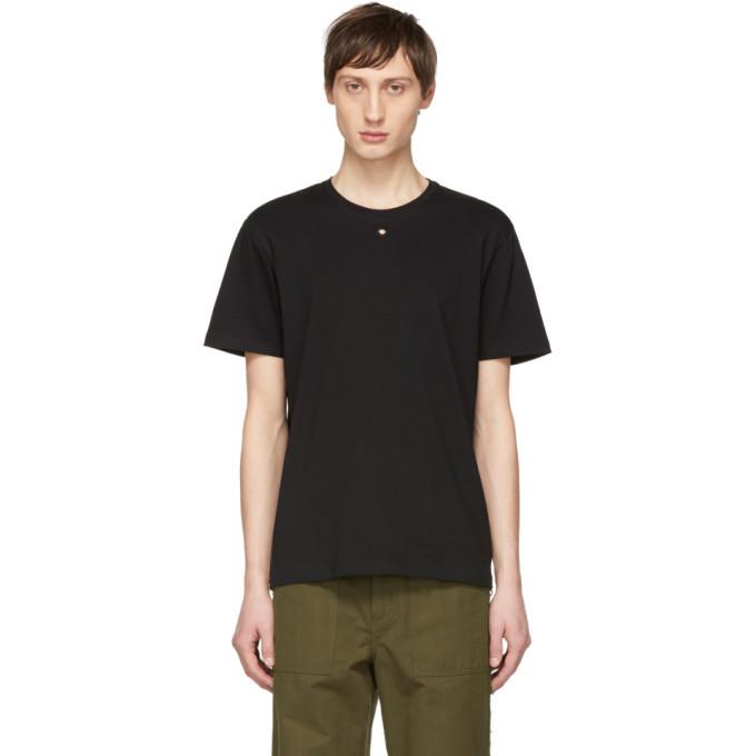 Photo: Craig Green Black Embroidered Hole T-Shirt