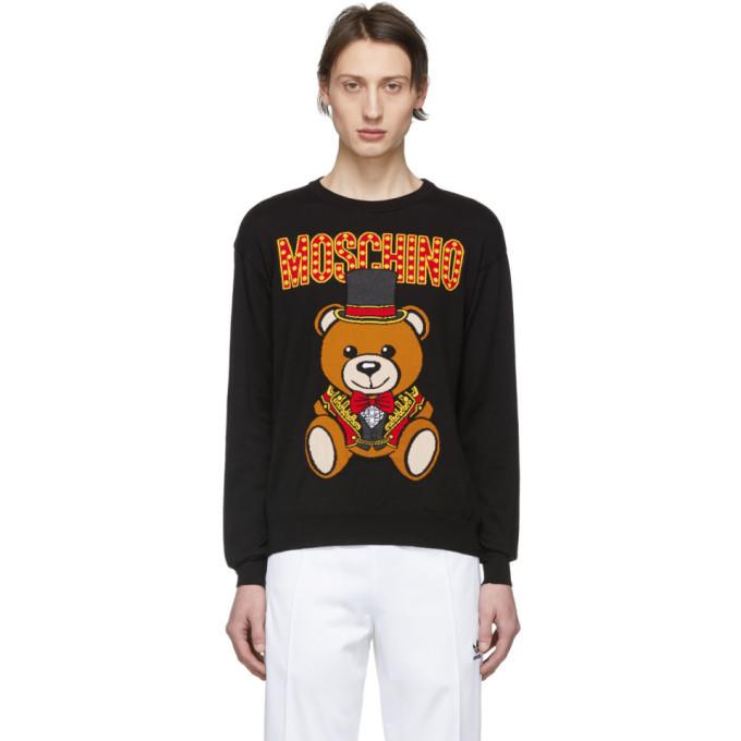 Photo: Moschino Black Ring Leader Bear Sweater