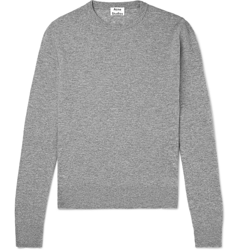Acne Studios - Niale Wool-Blend Sweater - Men - Gray