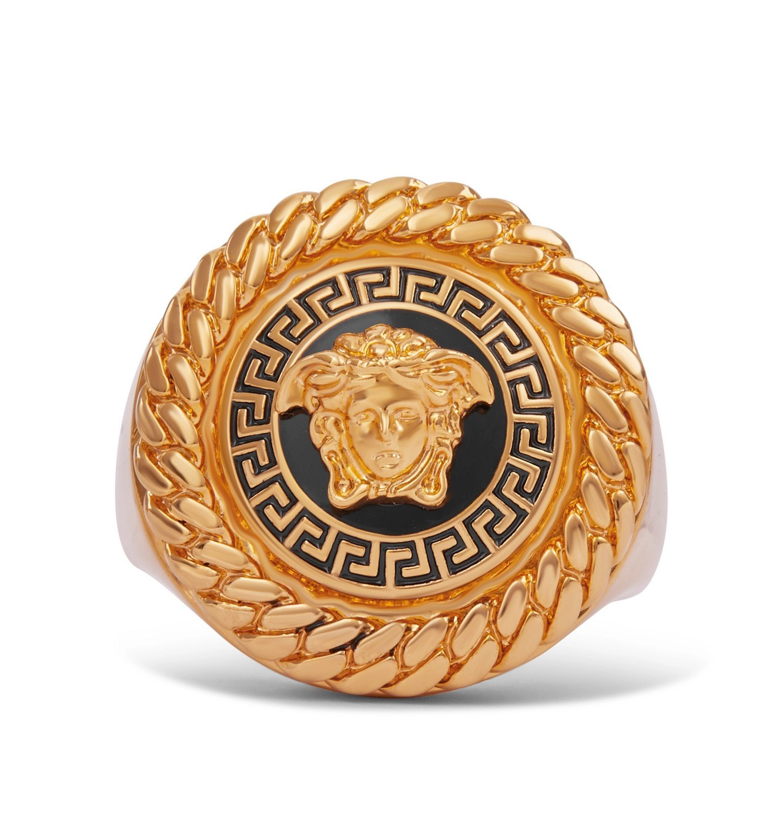 Versace - Medusa Gold-Tone Signet Ring - Unknown
