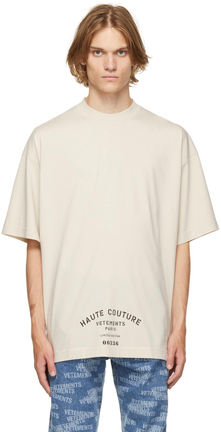 Photo: VETEMENTS Off-White Maison De Couture T-Shirt