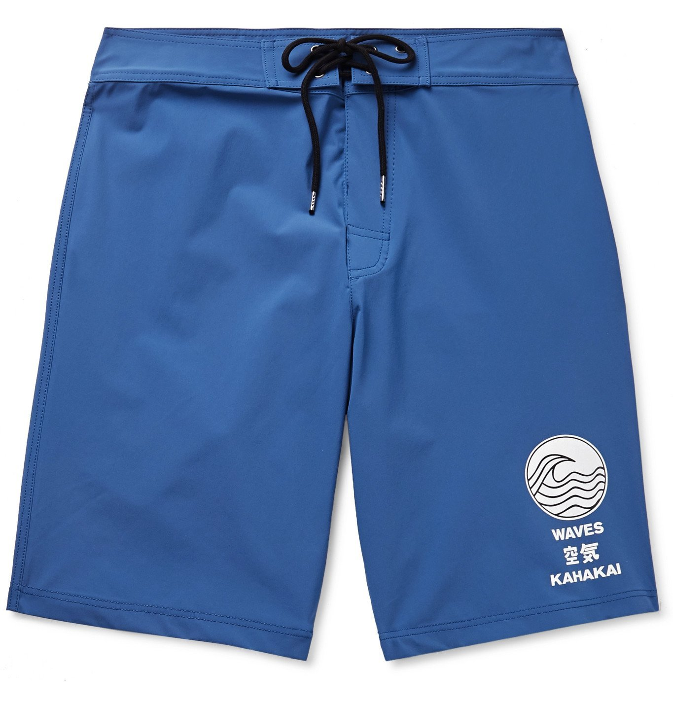 Photo: James Perse - Y/OSEMITE Long-Length Printed Swim Shorts - Blue