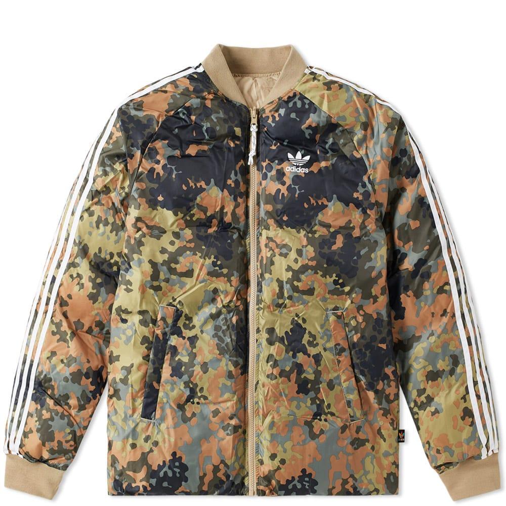 Adidas x Pharrell Williams Reversible SST Winter Jacket Green
