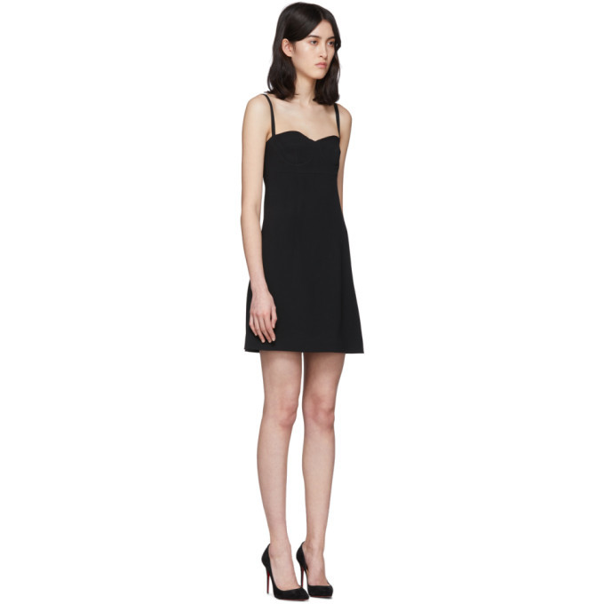 Dolce and Gabbana Black Bustier Dress