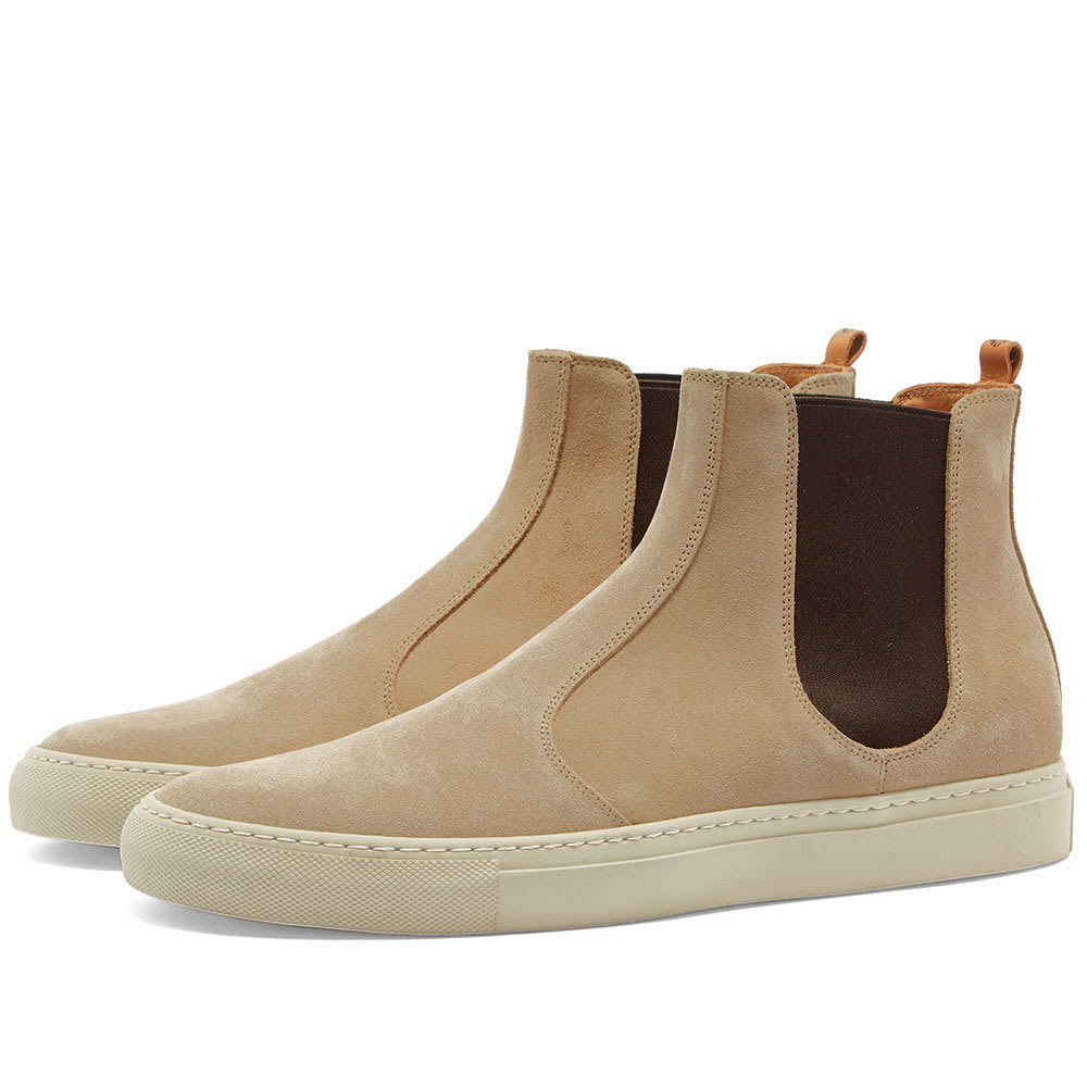 Photo: Buttero Tanino Suede Chelsea Boot Nude Spring