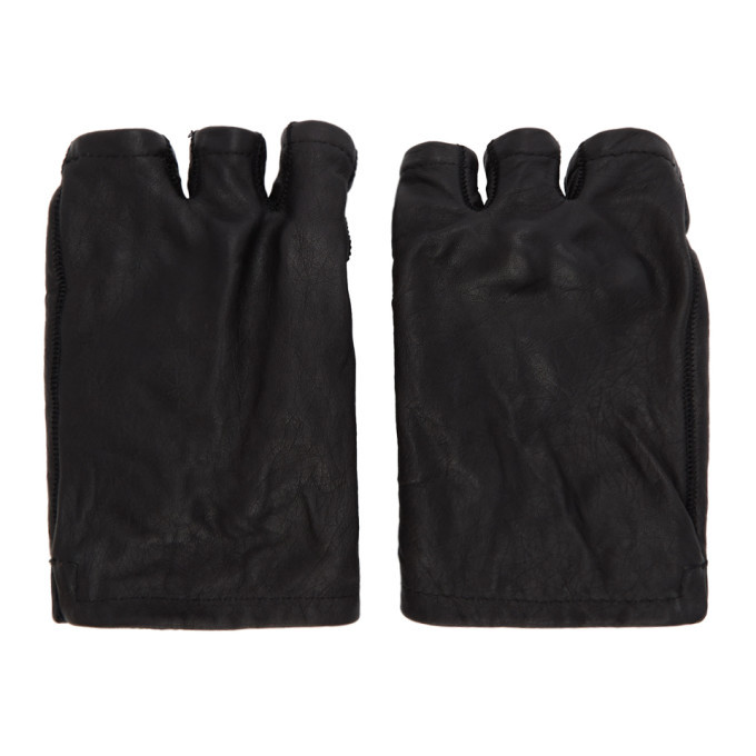 Photo: Boris Bidjan Saberi Black Fingerless Gloves
