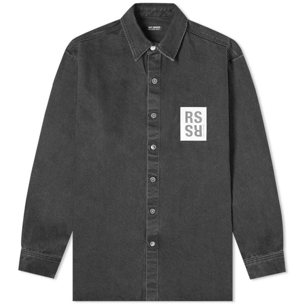 Raf Simons Washed Denim Overshirt