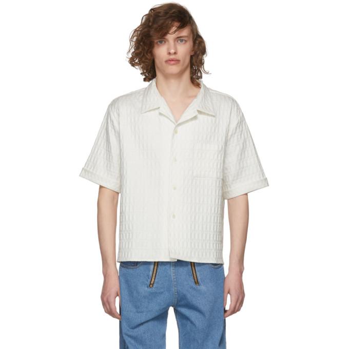 GmbH White Luka Bowling Shirt