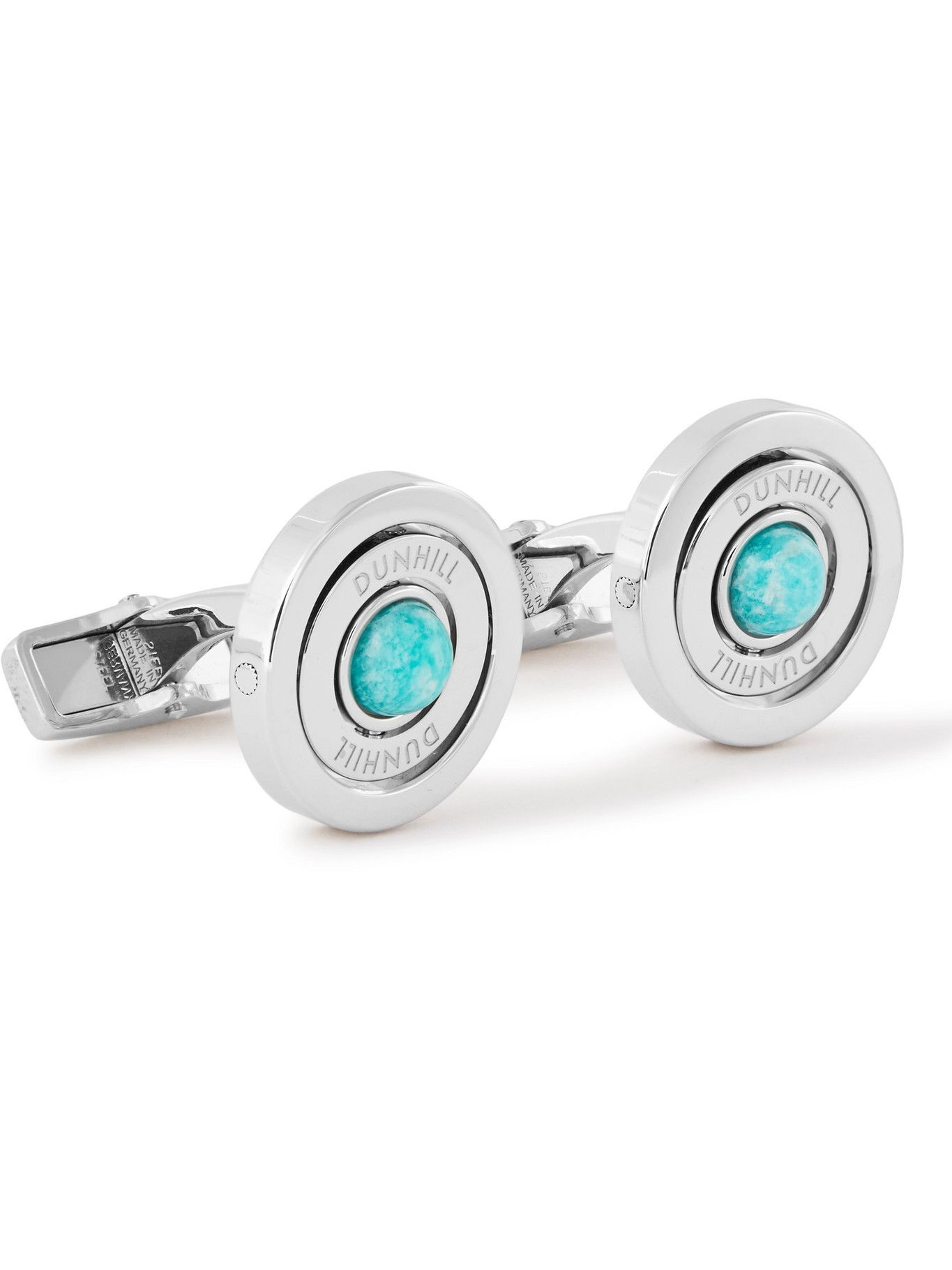 Dunhill - Turquoise and Steel Cufflinks