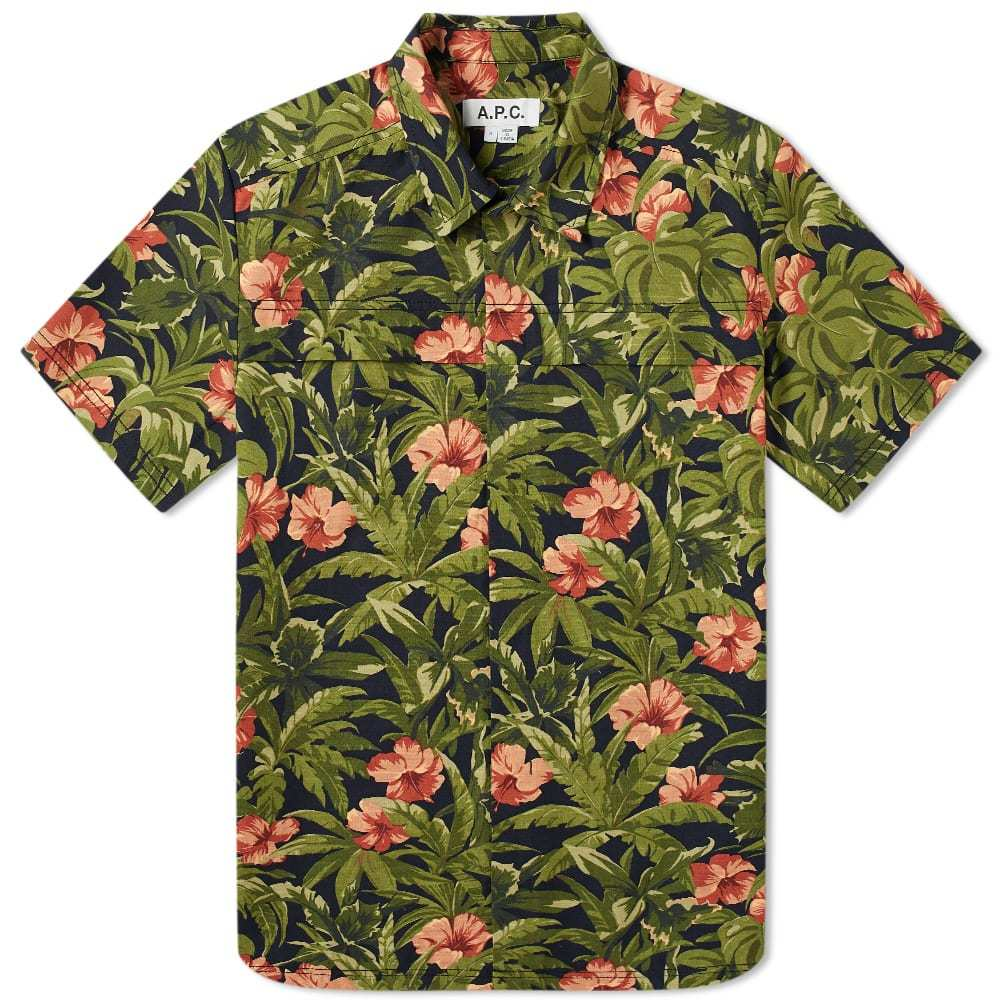 Photo: A.P.C. x Michael Kopelman Floral Shirt