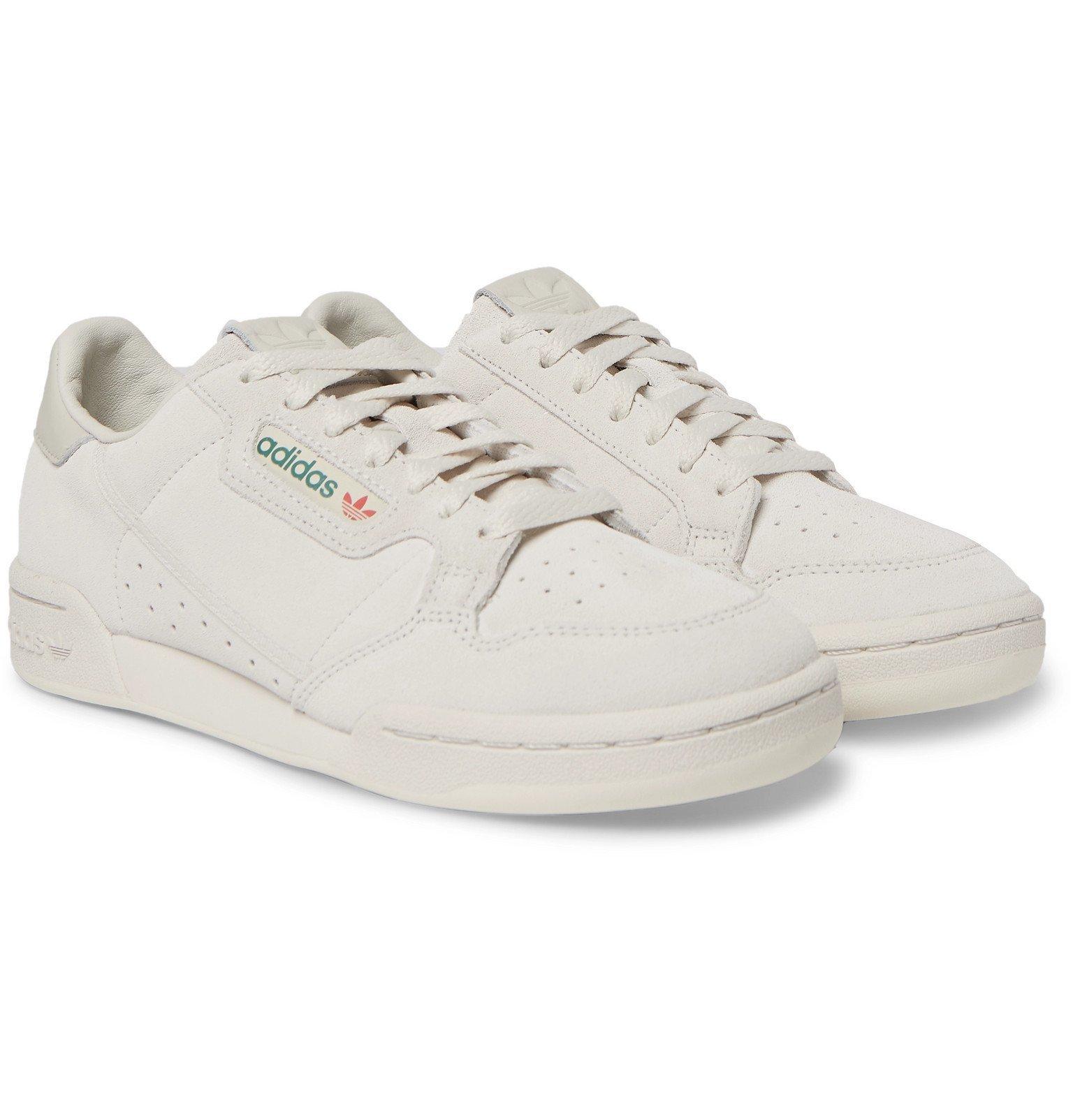 adidas Originals - Continental 80 Suede Sneakers - Gray