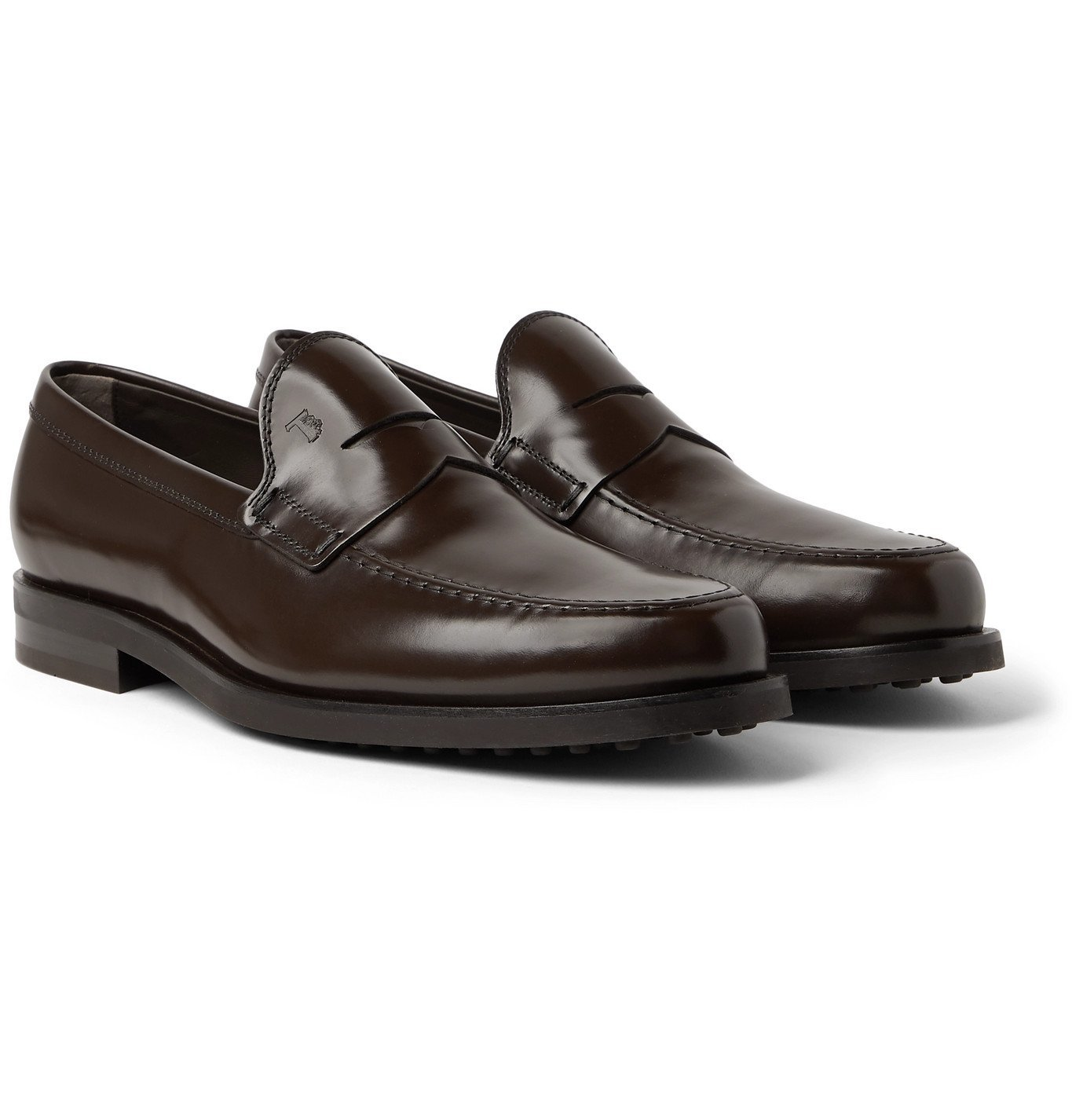 Photo: Tod's - Leather Penny Loafers - Brown
