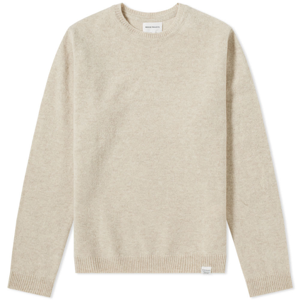 Photo: Norse Projects Sigfred Lambswool Crew Knit